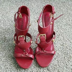 Paprika Strappy Heels